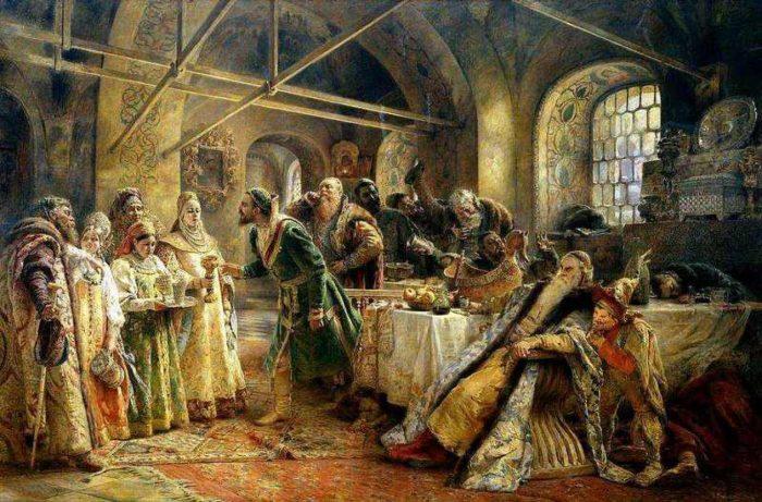 Блюда новогоднего застолья в России