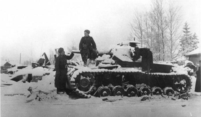 Поражение немецкой армии под Москвой