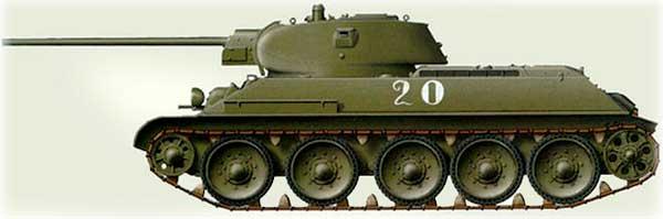 Т-З4-57 - история забытой легенды