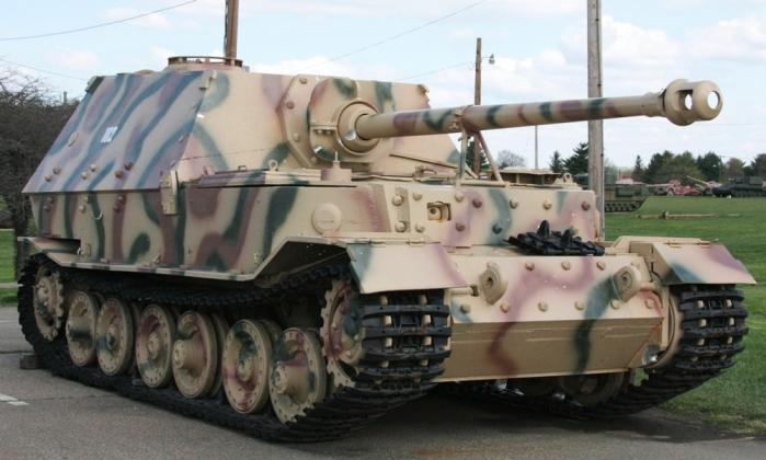 СУ-122 против «Фердинанда»: Ахиллесова пята немецкого бронечудовища