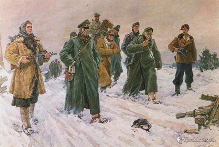 Партизанский командир Дядя Костя