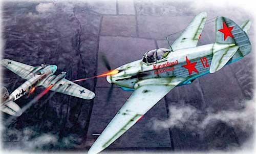 Авиашедевр Яковлева Як-1