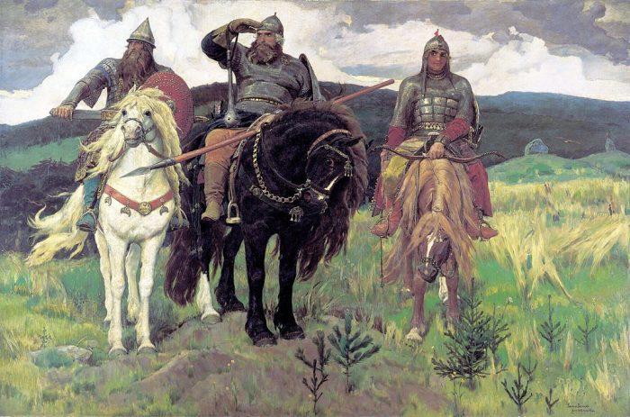 «После побоища Игоря Святославича с половцами» Васнецова