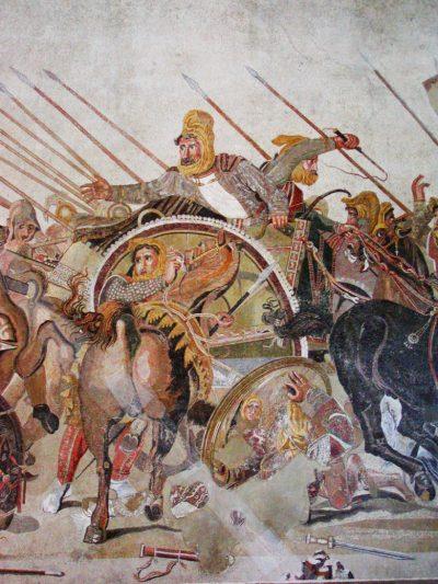 Македонский против Дария