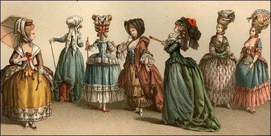 Изыски галантного века: прически и парики