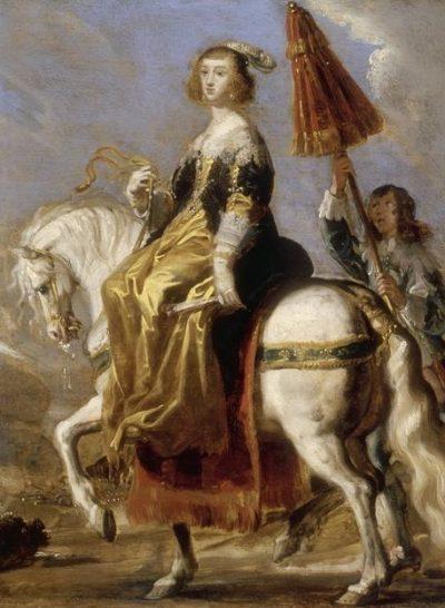 Королева мушкетерской Франции