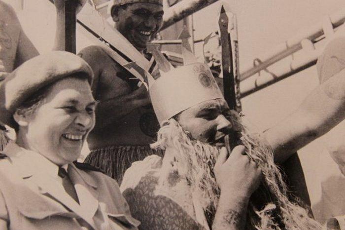 Первая в мире женщина - капитан дальнего плавания