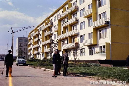 """Новые """"хрущевки"""" 50 лет назад"""