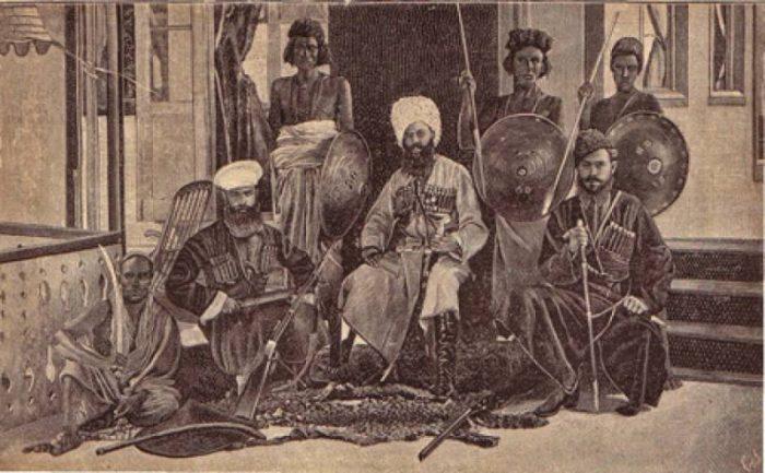 Как казаки в Эфиопию ходили