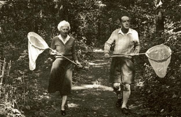 Владимир Набоков и Вера: двое, я и моя тень