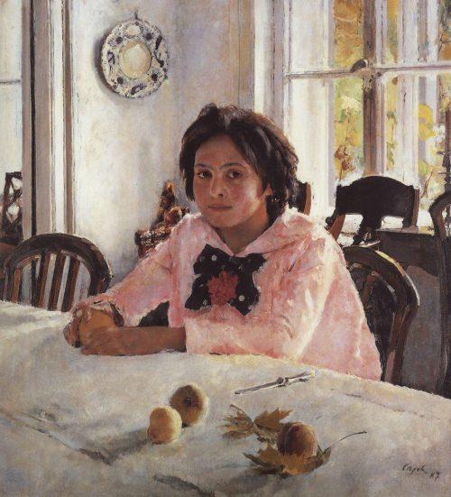 История одного шедевра: «Девочка с персиками» Серова