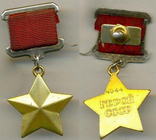 Солдат - победитель Бекир Мустафаев