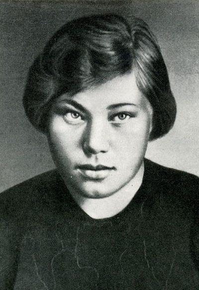 Герой Советского Союза Аня Лисицына