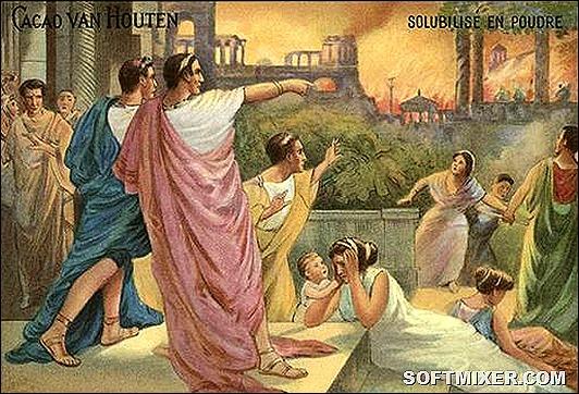 За что народ любил Нерона