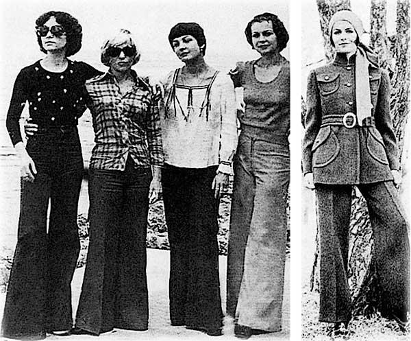 Брюки клеш были модны в СССР в 70-е годы, а кто их придумал?