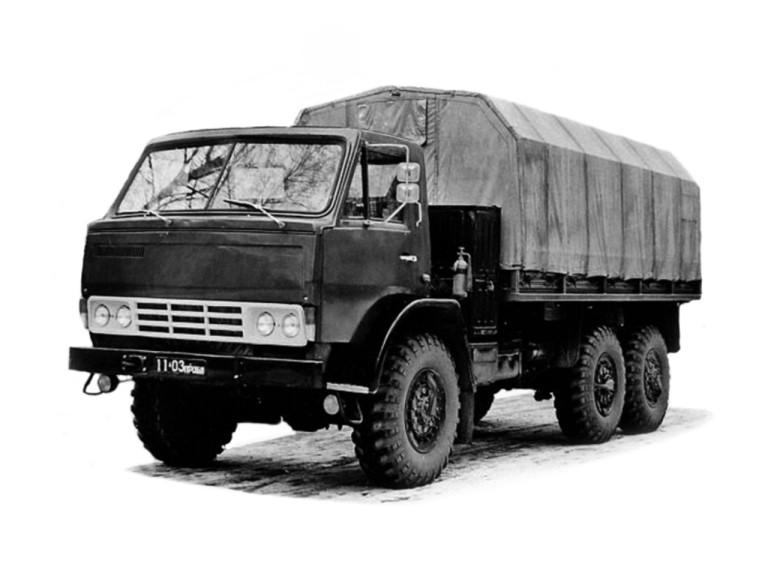 История марки КАМАЗ