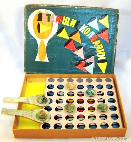 Игрушки советского детства