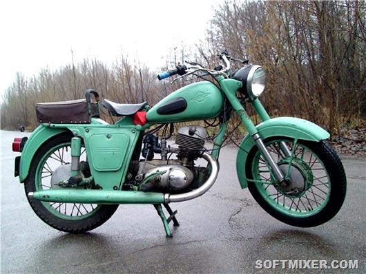 Мотоциклы родом из СССР