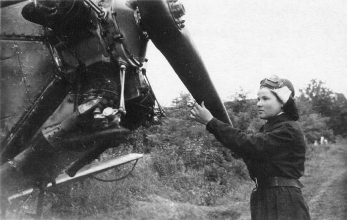 Боевая девушка - орлица Антонина Худякова