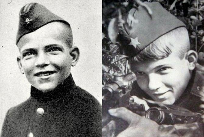 Маленькие герои страшной войны