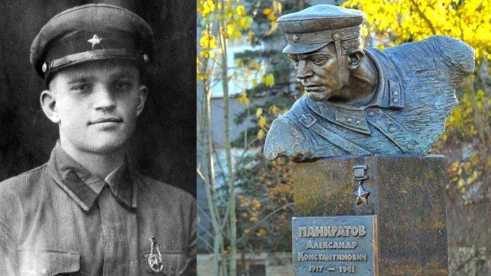 Александр Панкратов первый воин-герой