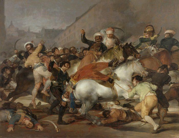Мадрид против французских оккупантов