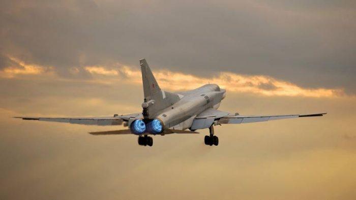 Советский бомбардировщик Ту-22М3