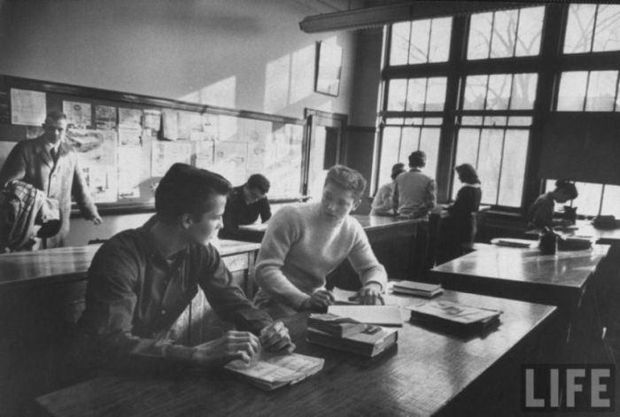 Уровень знаний американского и советского школьника
