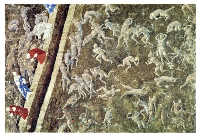История одного шедевра: «Карта Ада» Боттичелли