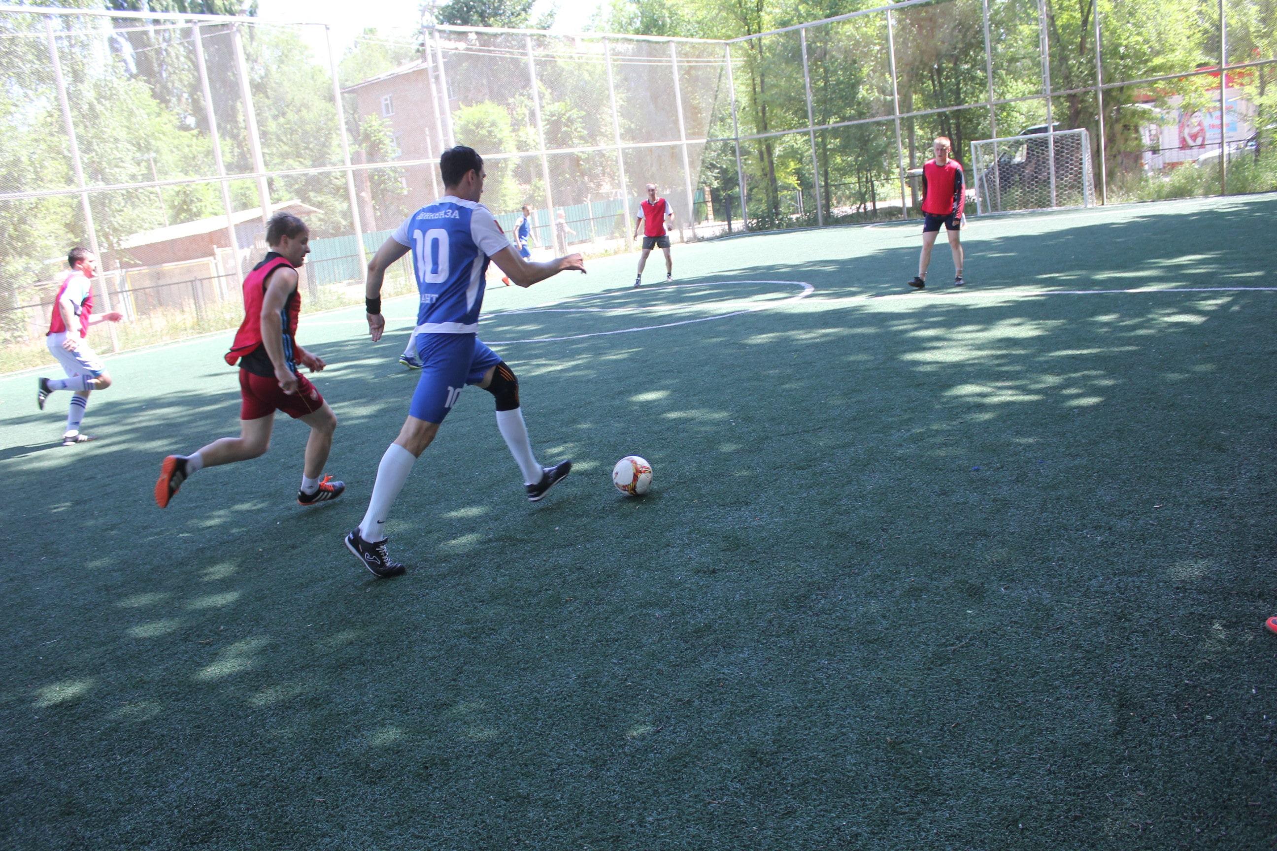 Турнир по мини-футболу в ознаменование Дня России