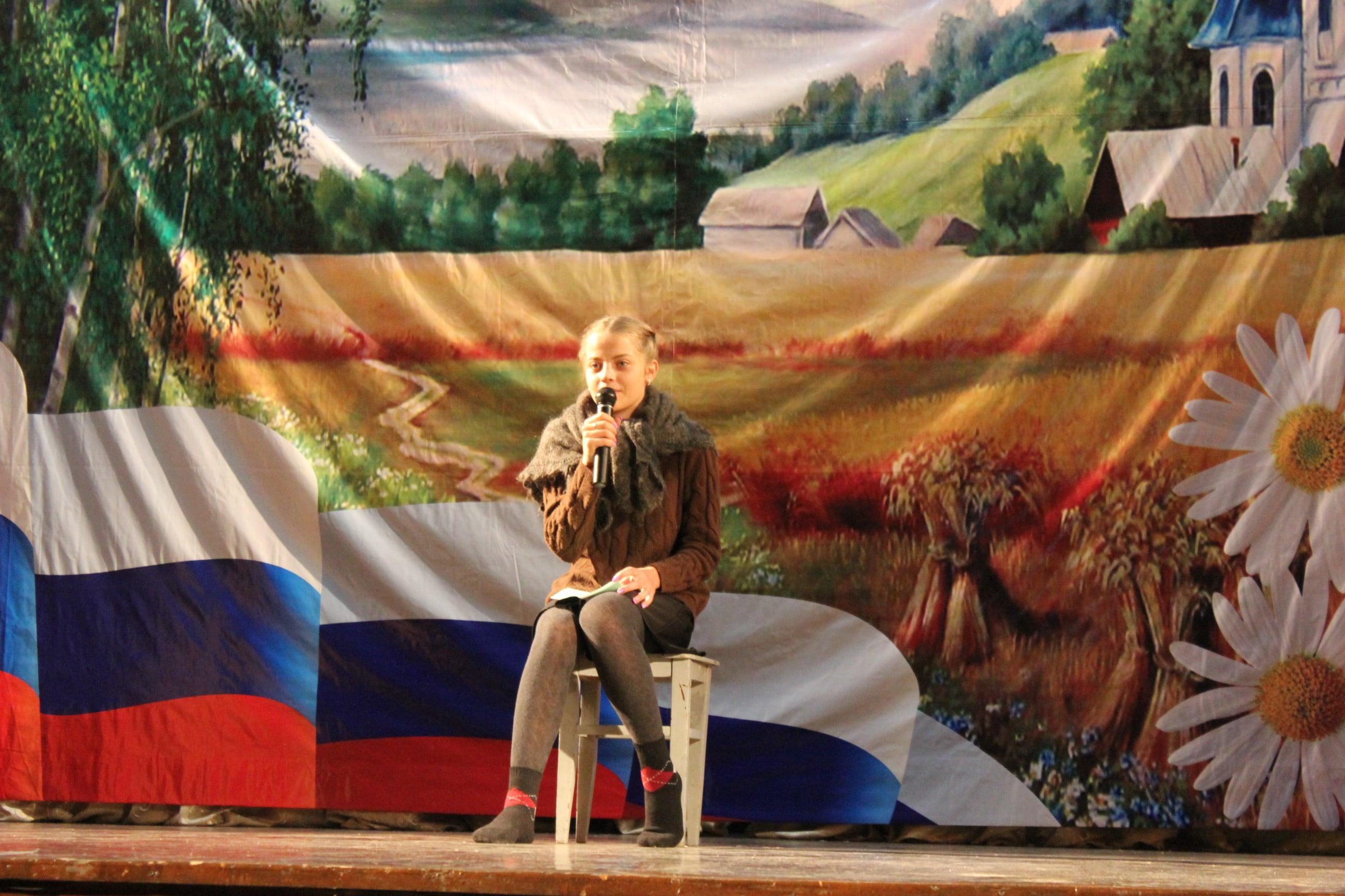 Отчетный концерт юнармейского отряда «Новое Поколение»