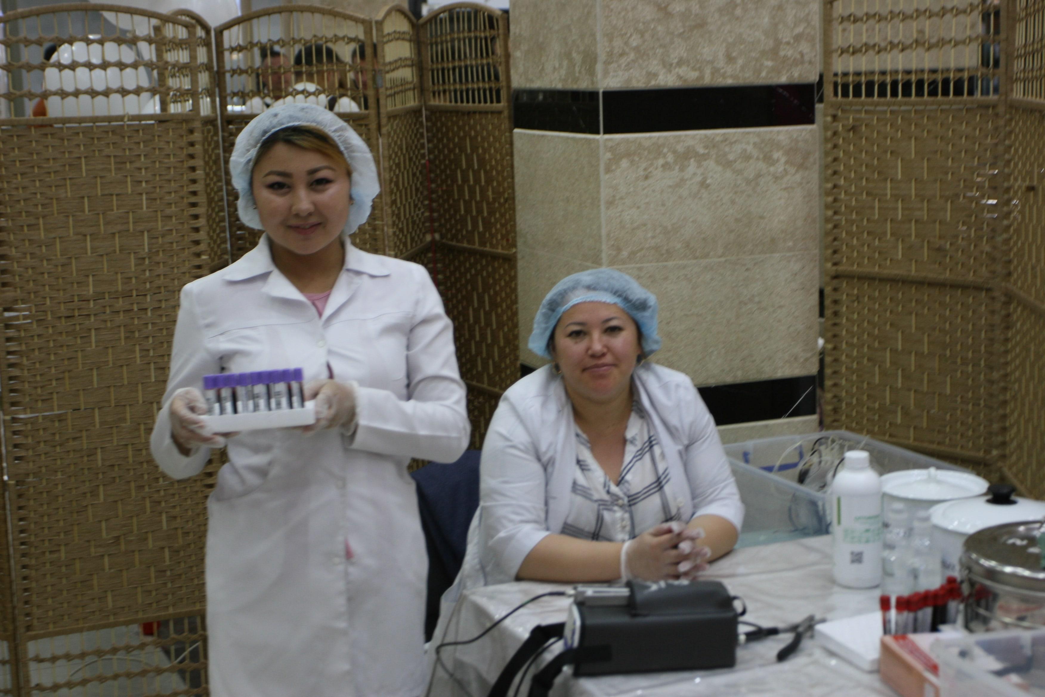 В Бишкеке прошел Всемирный день донора крови