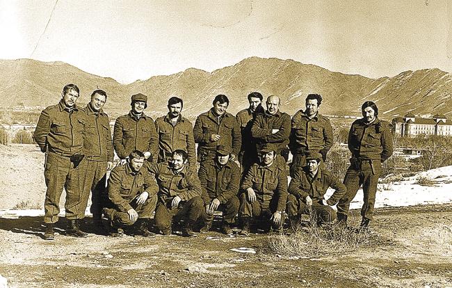 Об отряде спецназовцев под названием «Зенит»