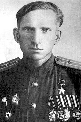 Герой Советского Союза Евгений Азаров