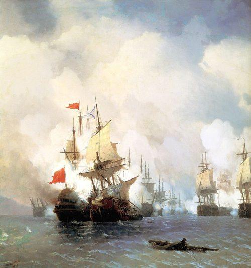 Средиземноморский вояж русской эскадры