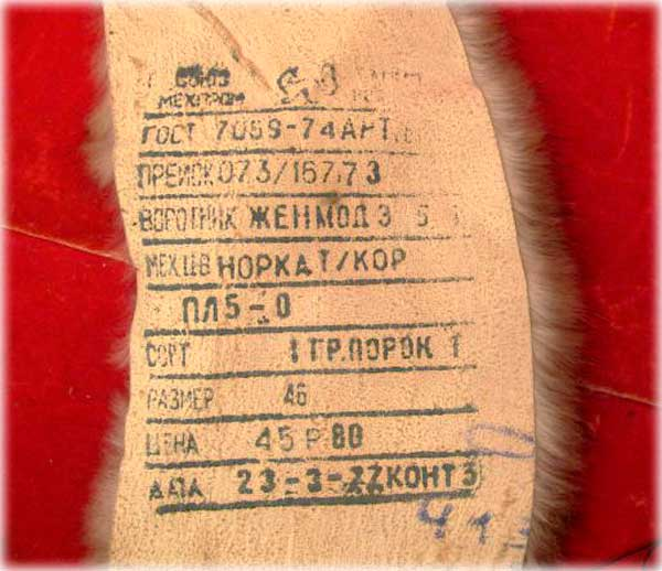 Советские меха. История отрасли в СССР