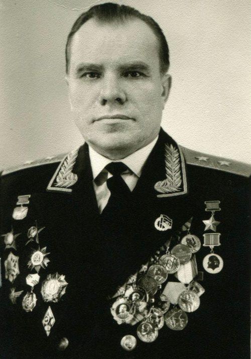 Лётчик-истребитель Дмитрий Оськин