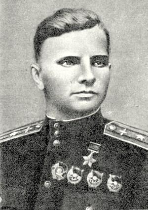 Летчик ас Петр Козаченко