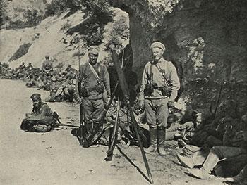 Русский солдат первой всемирной войны