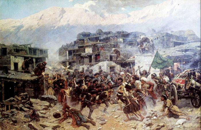 Три знаковых фигуры Кавказской войны