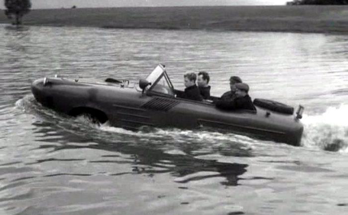 Вездеходы пяти морей: история советских амфибий