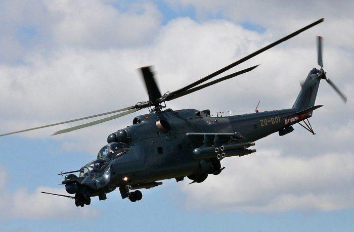 Вертолетный «полк» Миля