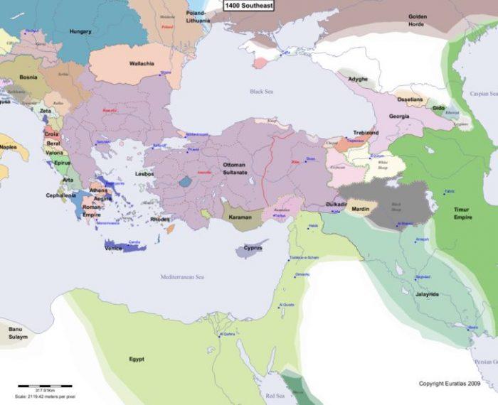 Завоеватель мира против Молниеносного султана