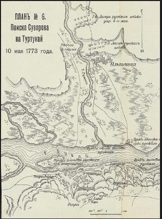 Туртукайские поиски Суворова