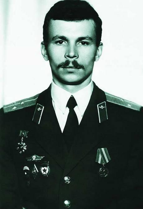 Звезда Героя майора Родионова