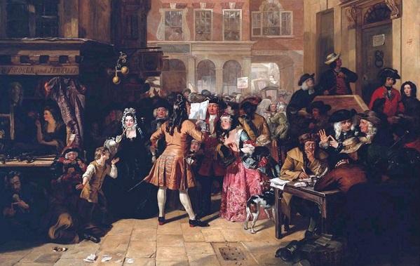 МММ из XVIII века