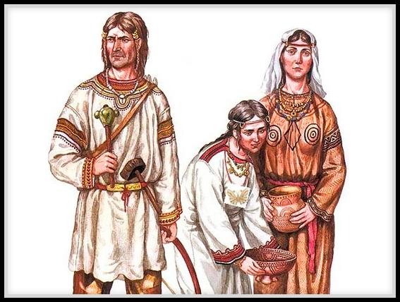Древние жители Руси
