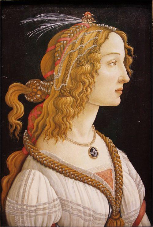 Боттичелли – певец женской красоты