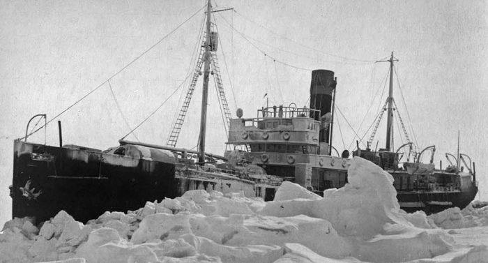 Ледяная одиссея «Георгия Седова»