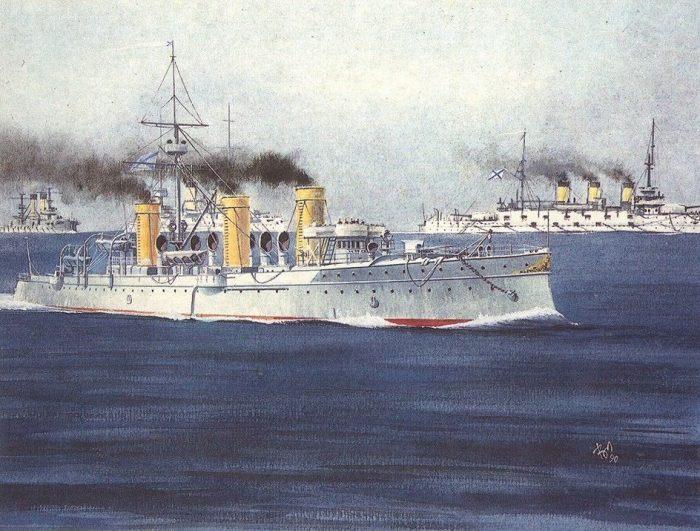 Первое морское сражение XX века
